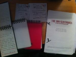 Shotgun Diaries Sheet
